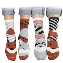 Forest Animals Mix & Match Socks Set