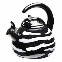 Whistling Tuxedo Cat Teakettle