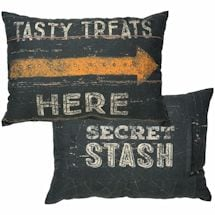 Halloween Treats Secret Stash Pillow