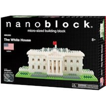 The White House Nanoblock® Puzzle Kit