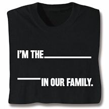 Personalized In Our Family Shirts