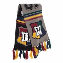 Reversible Harry Potter Outerwear- Hogwarts Scarf