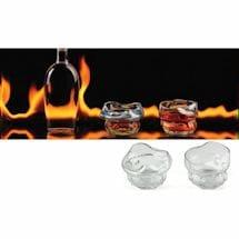 Charred Whiskey Glasses Set