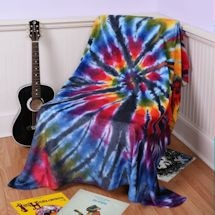 Tie Dye Throw