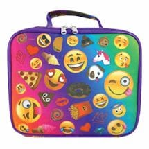 Emojicon Lunch Boxes- Multi-Color