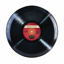 Vinyl Greatest Hits Dinnerware - Lp Platter