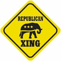 Political Crossing - Republican
