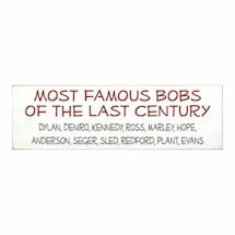 Personalized Famous Bobs Plaque