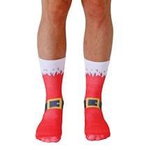 Santa Boots Crew Socks