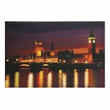 Great Places Led Lighted Canvas - Big Ben