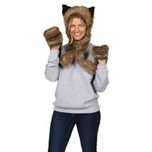 Grizzly Bear Hat/Scarf