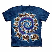 Grumpy Cat T-Shirt- Swirl