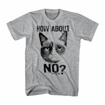 Grumpy Cat T-Shirt- No?