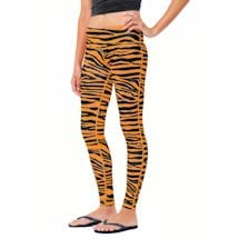 Team Leggings - Orange/Black