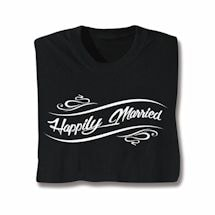 Happily Moving On T-Shirt - Married