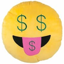 Emoji Buck Pillow