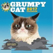 Grumpy Cat 2017 Wall Calendar