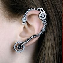 Steampunk Ear Wrap