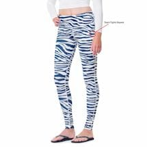 Team Leggings Blue/White