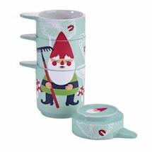 Garden Gnome Measuring Cup Set