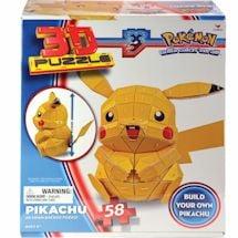 Pokemon Pickachu 3D Puzzle