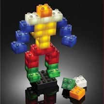 Led Light Up Building Blocks - 6 Piece Expansion Pack