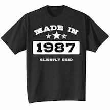 Made In 1987 Shirt