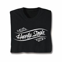 Happily Moving On T-Shirt - Single