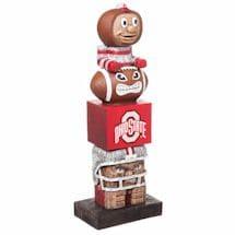 NCAA Tiki Totem Pole