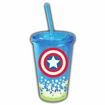 Glow In The Dark Captain America Cup