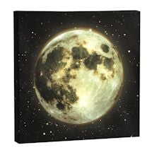 Moon Led Canvases