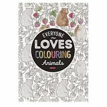 Colour Your World Coloring Books - Forest Animals