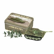 Mini Toy Tank In A Tin