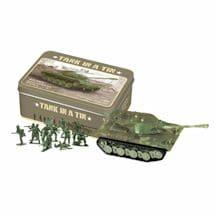 Mini Toy Tank In A Tin