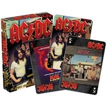 Licensed Playing Cards AC/DC Albums