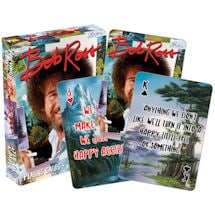 Licensed Playing Cards Bob Ross