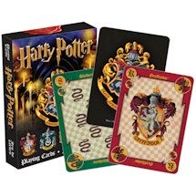 Licensed Playing Cards Harry Potter Crests