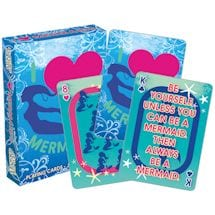 Licensed Playing Cards I Love Mermaids