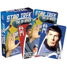 Licensed Playing Cards Star Trek Tao of Spock