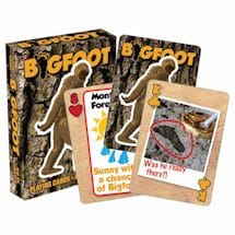 Licensed Playing Cards - Bigfoot