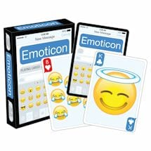 Licensed Playing Cards - Emoji Clean