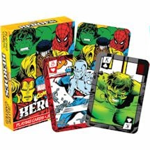 Licensed Playing Cards - Marvel Heroes