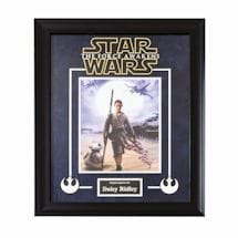 Star Wars Signed Print Rey