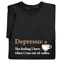 Depresso Shirts