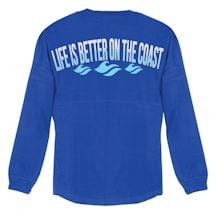 Life Is Better Jersey Long Sleeve - Coast