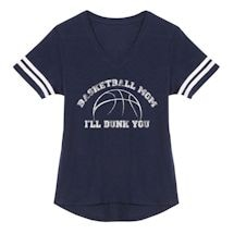 Sports Mom Shirts - Basketball Mom