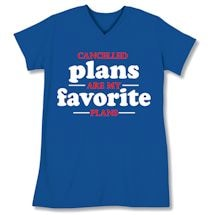 Humor Sleepshirts - Cancelled Plans