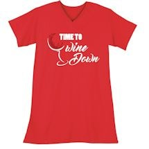 Wine Down Sleepshirt