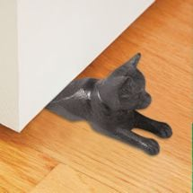 Cast-Iron Cat Doorstop