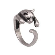 Animal Wrap Rings - Cat